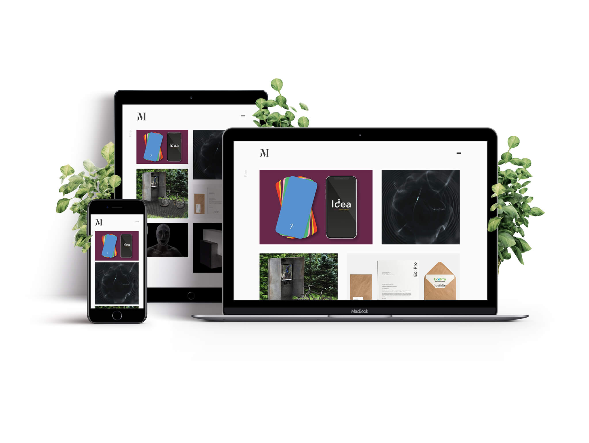 Website Responsive Mockup